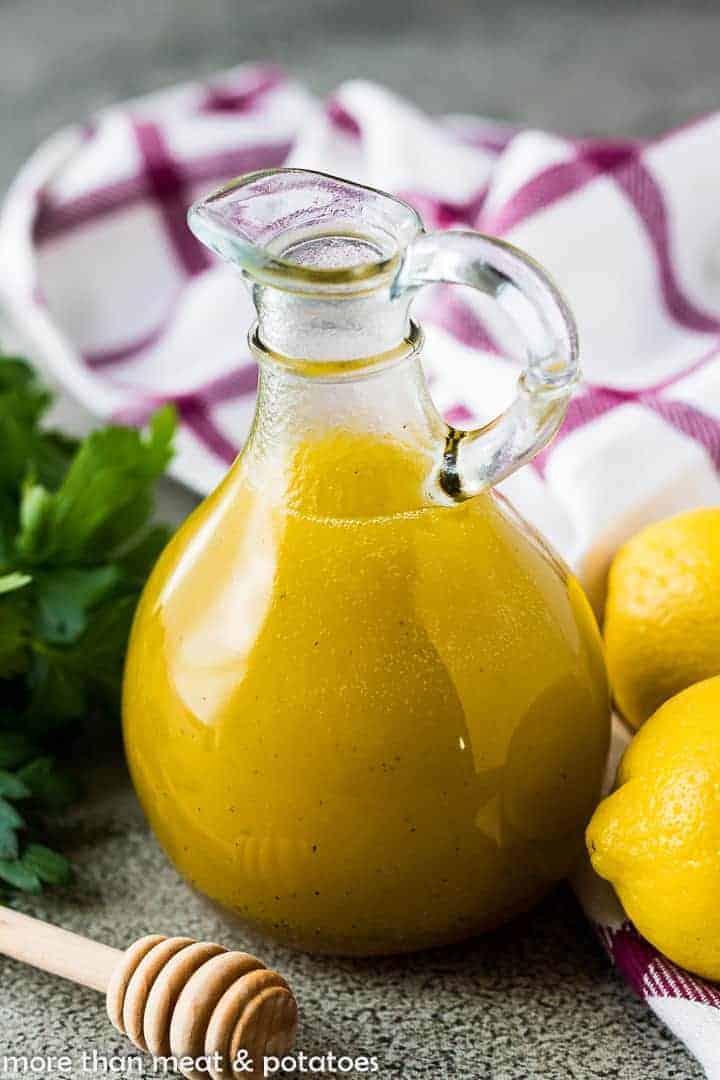 Honey vinaigrette 6 lemon honey vinaigrette dressing