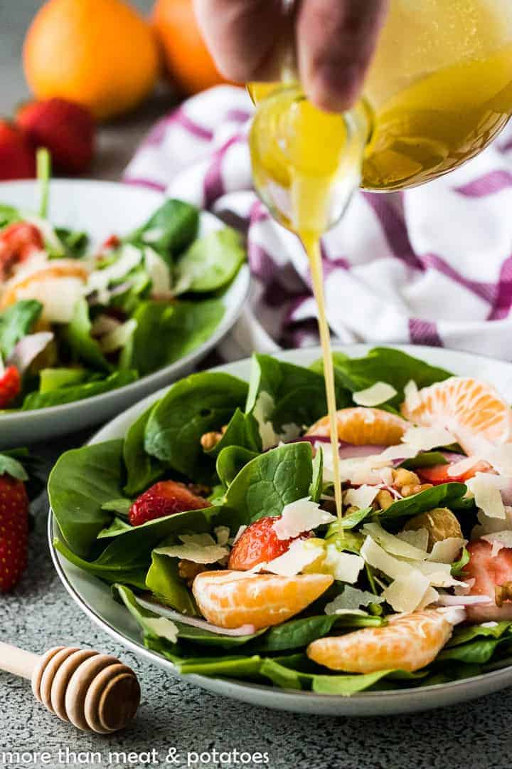 Strawberry Salad 5 Spinach Strawberry Salad Recipe