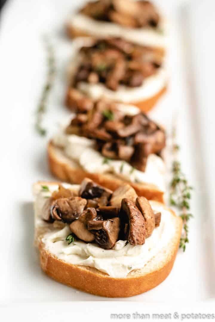 Mushroom Toast 5 Fresh Herb Mushroom Toast
