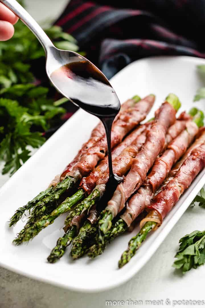 Prosciutto Wrapped Asparagus 7 Grilled Prosciutto Wrapped Asparagus