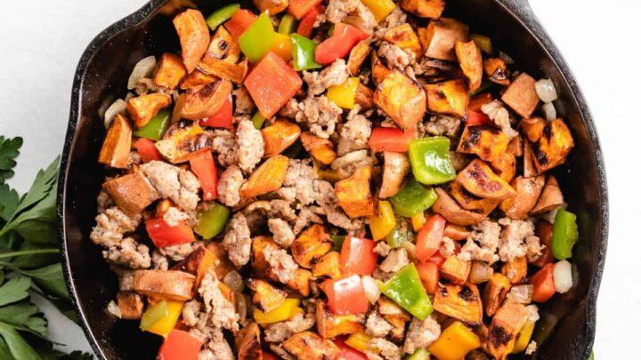 Sweet potato hash featured image recipes