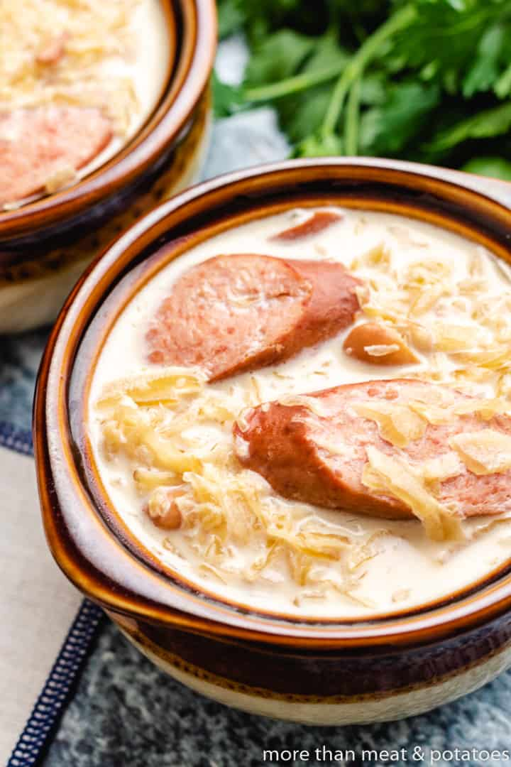 Sausage and Sauerkraut Soup 11 Sausage and Sauerkraut Soup