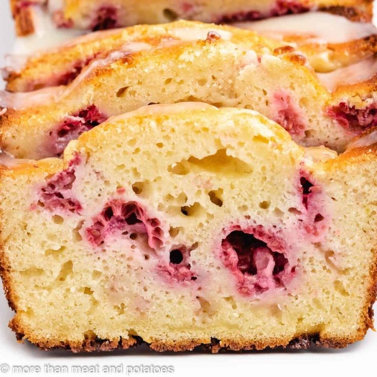White Chocolate Raspberry Loaf Cake Featured Image White Chocolate and Raspberry Loaf Cake