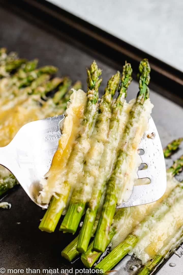 Cheesy garlic roasted asparagus 7 cheesy garlic roasted asparagus