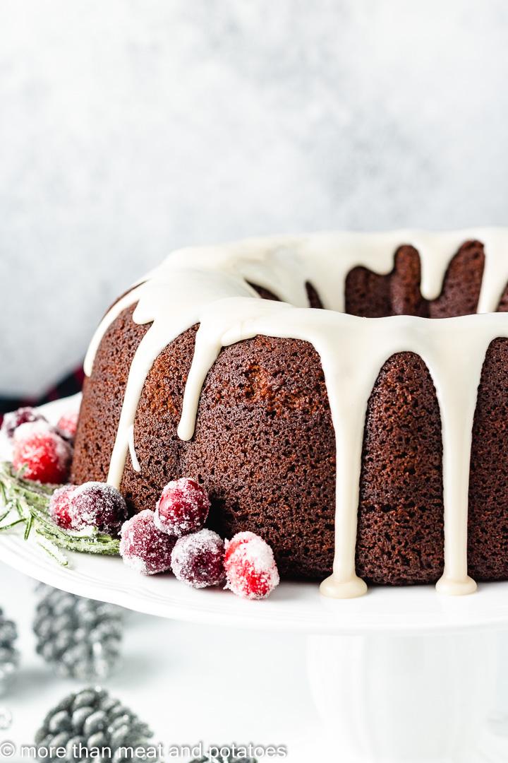 Gingerbread bundt cake 9 gingerbread bundt cake