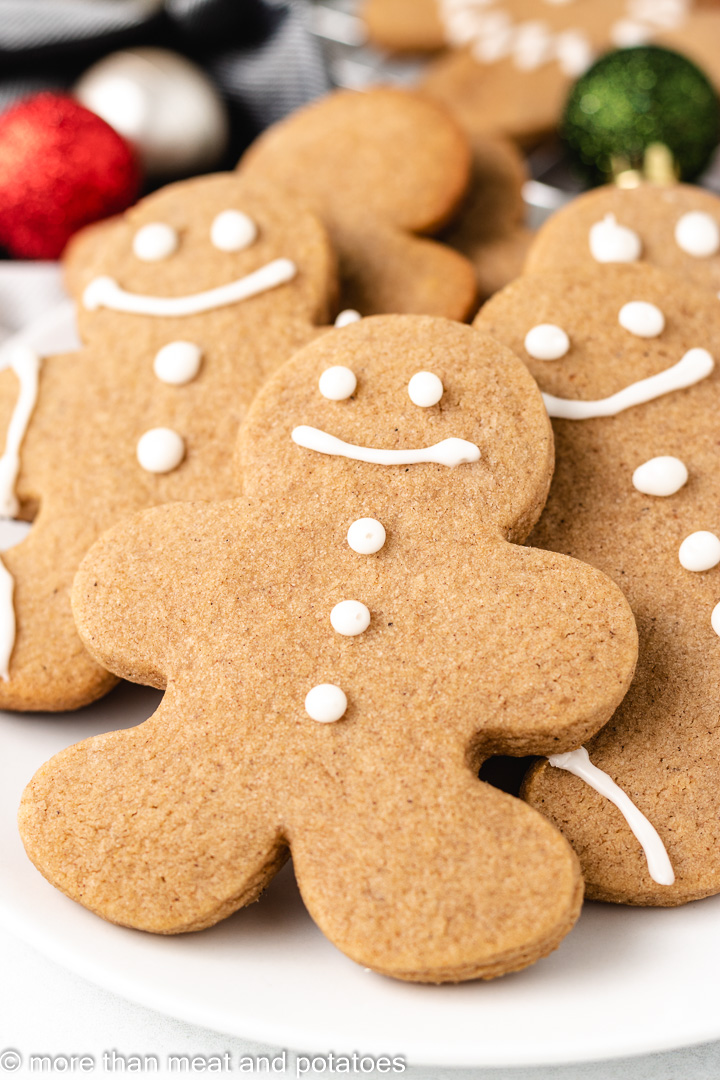 Gingerbread Cookies without Molasses 10 Gingerbread Cookies without Molasses