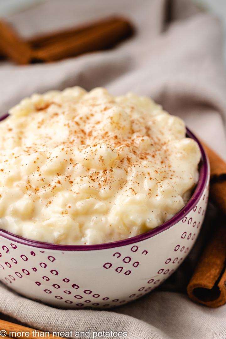Rice Pudding without Eggs 4 Rice Pudding without Eggs