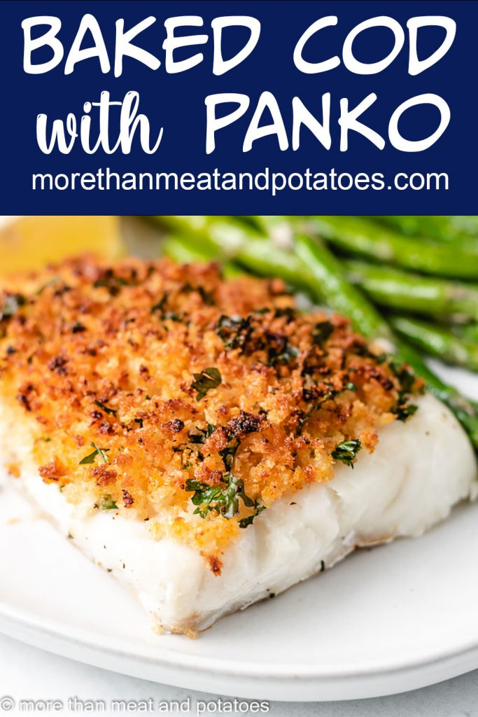 Baked Cod With Panko