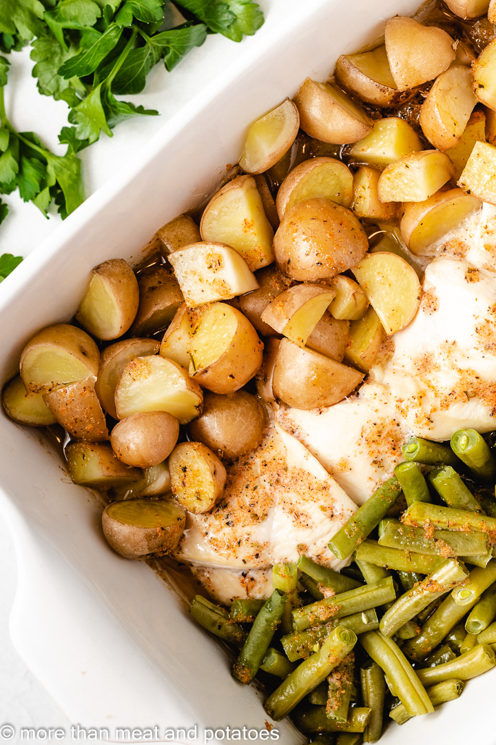 Chicken Green Beans and Potatoes 7 Chicken Green Beans and Potatoes