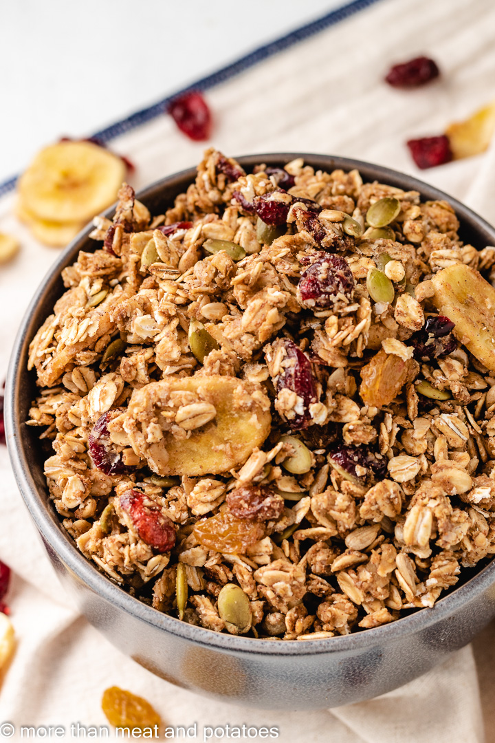 Nut Free Granola 9 Nut Free Granola