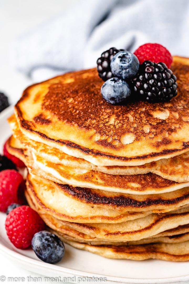Sourdough starter pancakes 9 sourdough starter pancakes