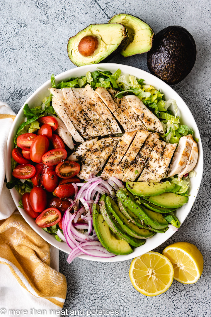 Chicken Avocado Salad 11 Grilled Chicken Avocado Salad