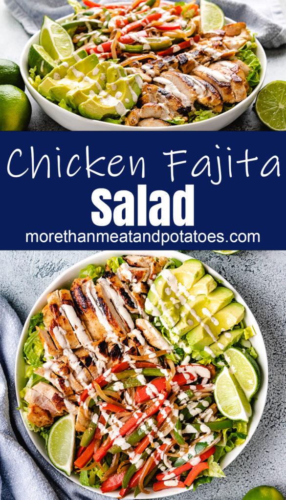 Collage style photo showing two bowls of chicken salad.
