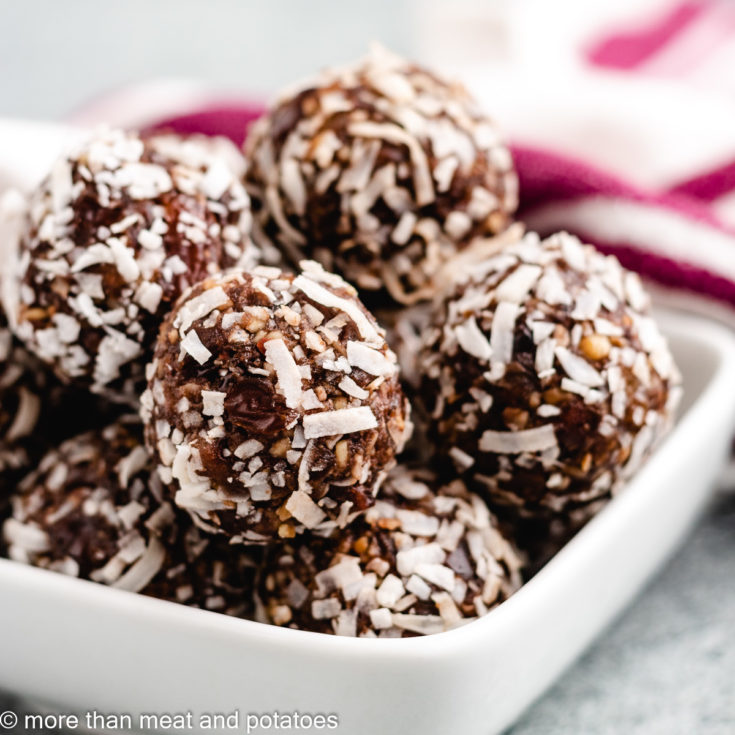 Date balls featured image easy date balls