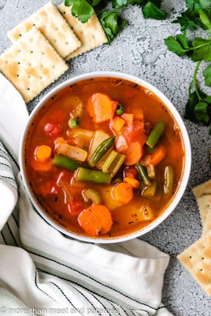 Homemade Vegetable Soup 9 Homemade Vegetable Soup