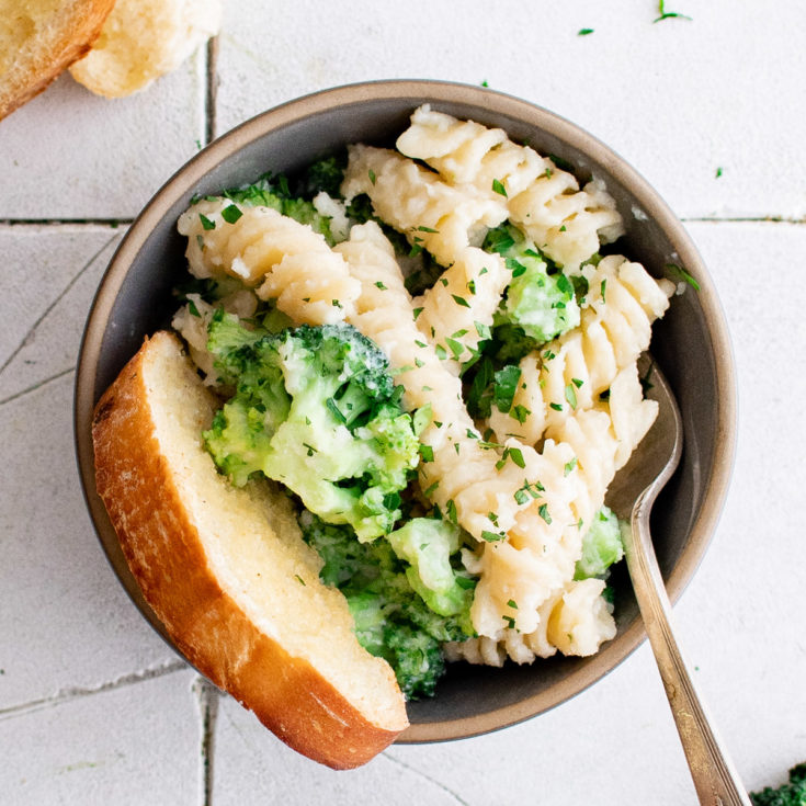 Broccoli pasta featured image broccoli pasta